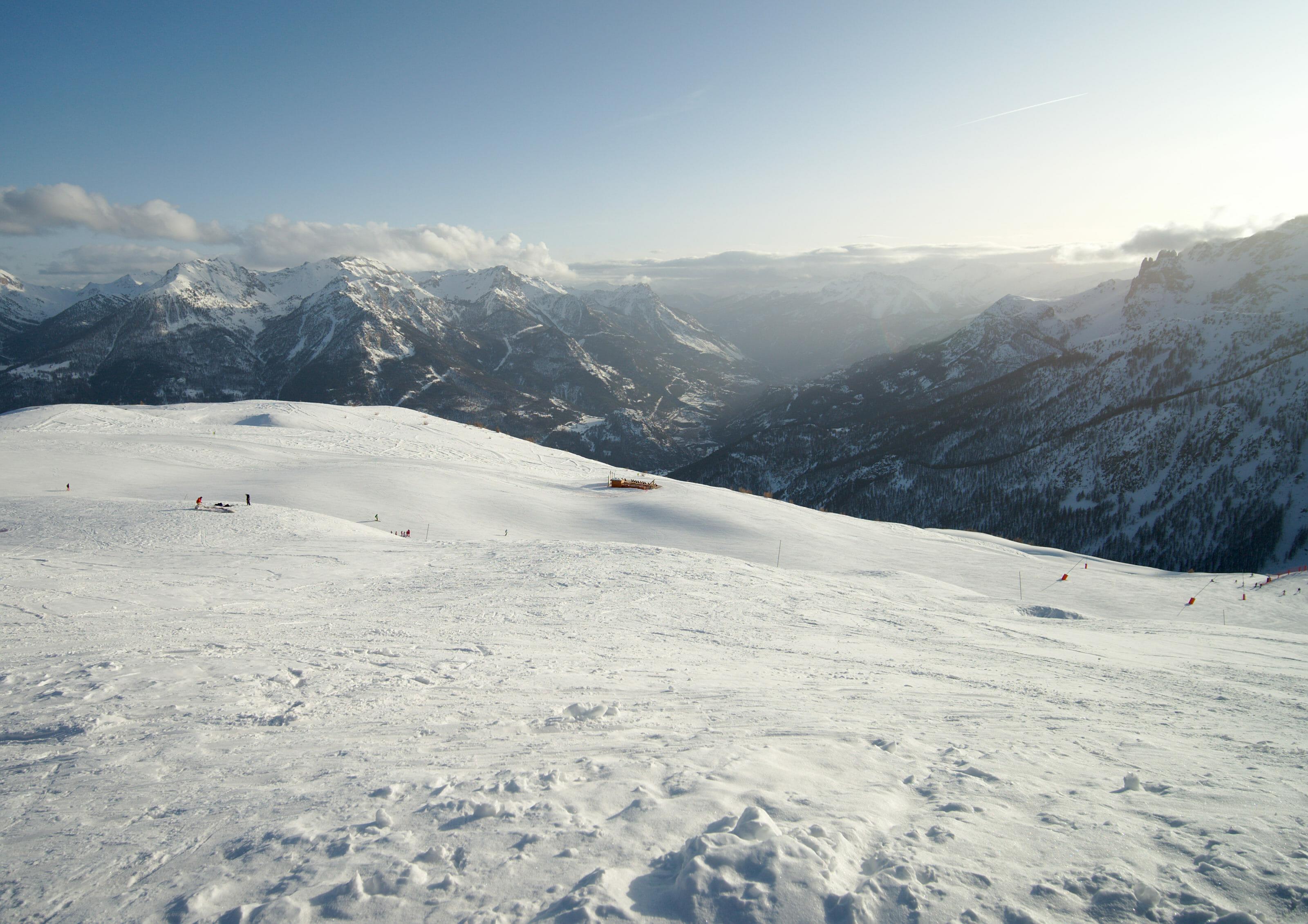 french ski slopes