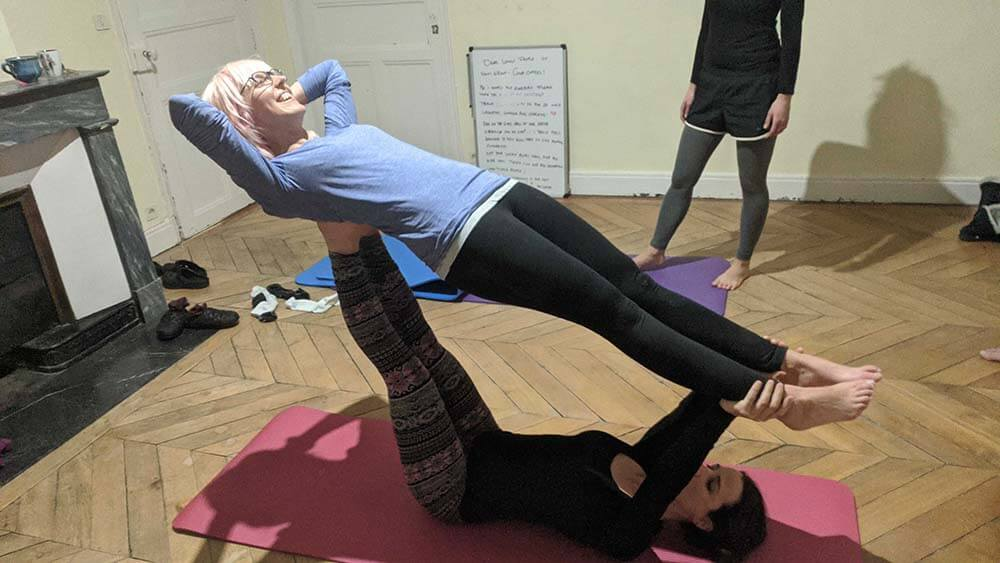 yoga au coliving