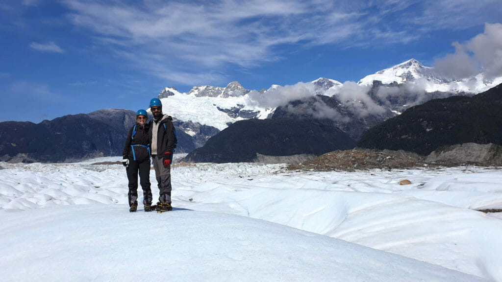 tour du monde glacier exploradores chili