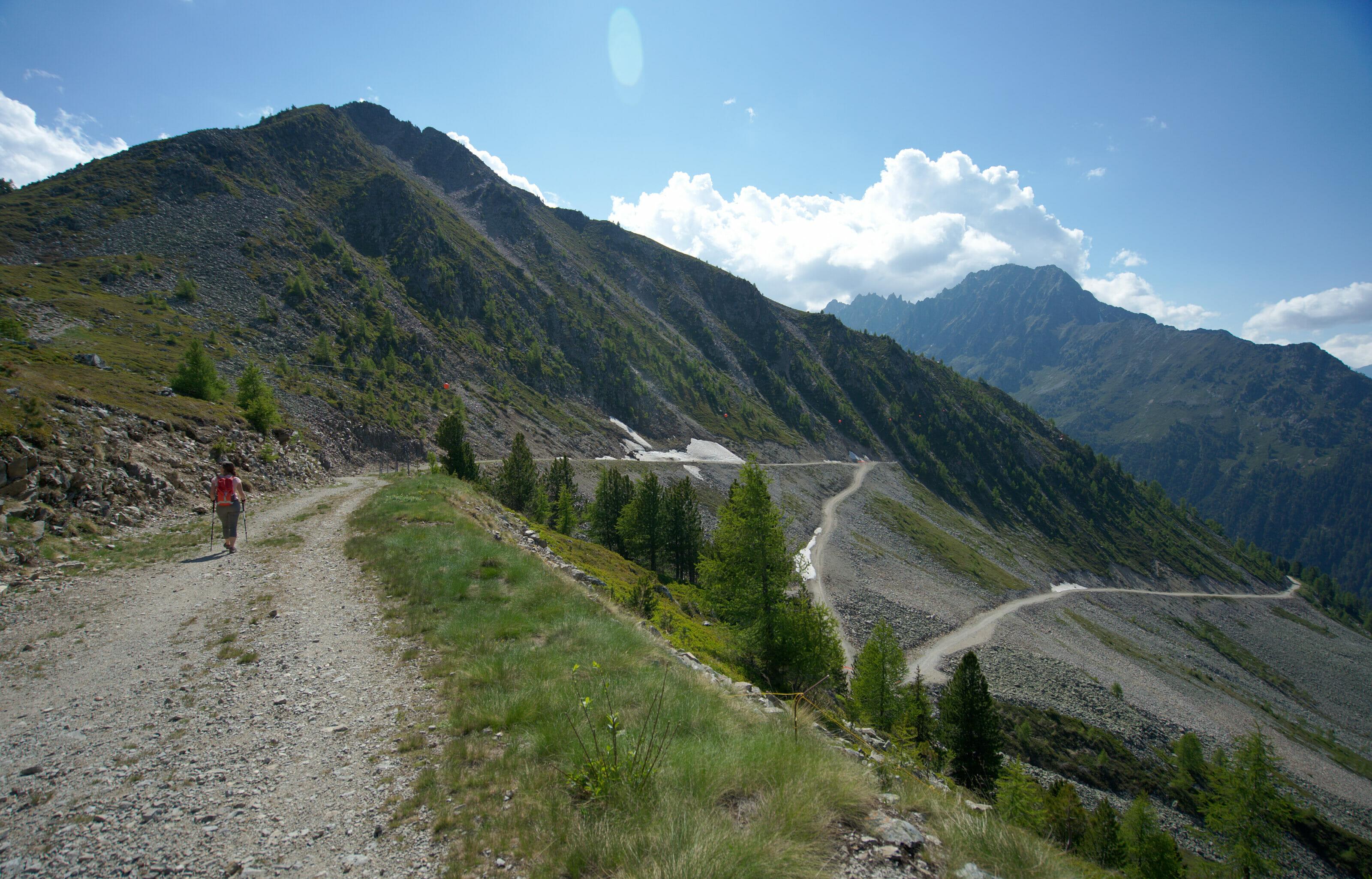 descent from la Breya to Arpette