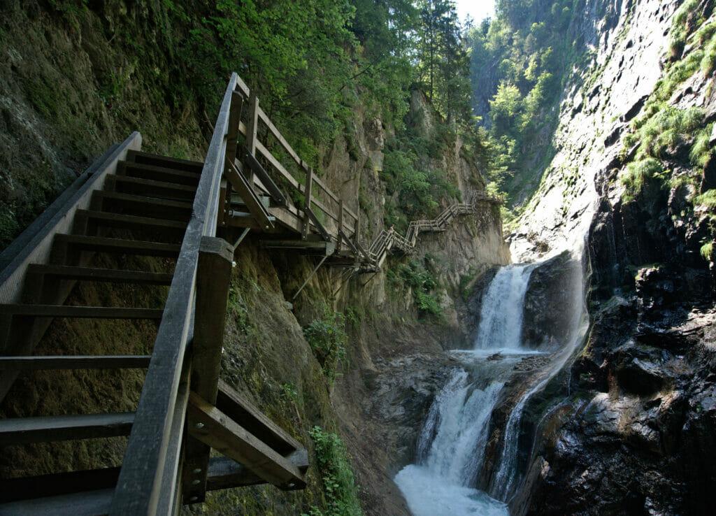 cascade gorges du durnand