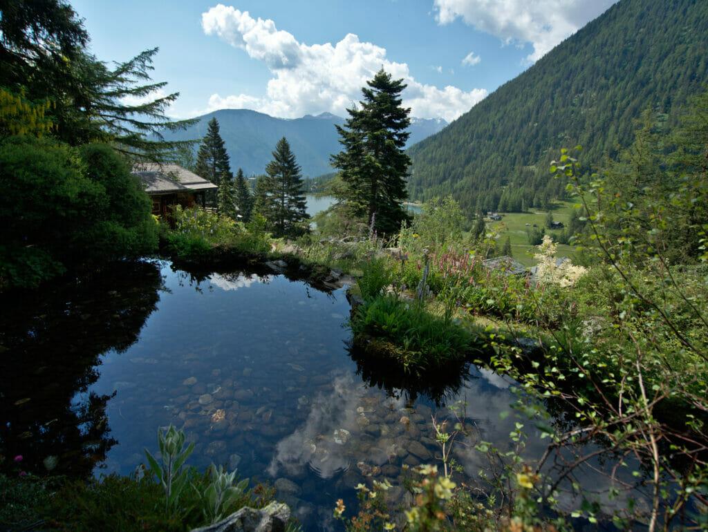 jardin botanique flore alpe