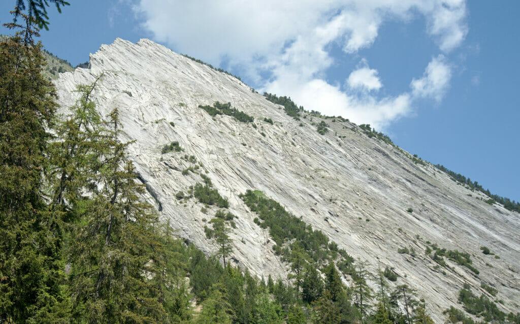 roche calcaire, valais