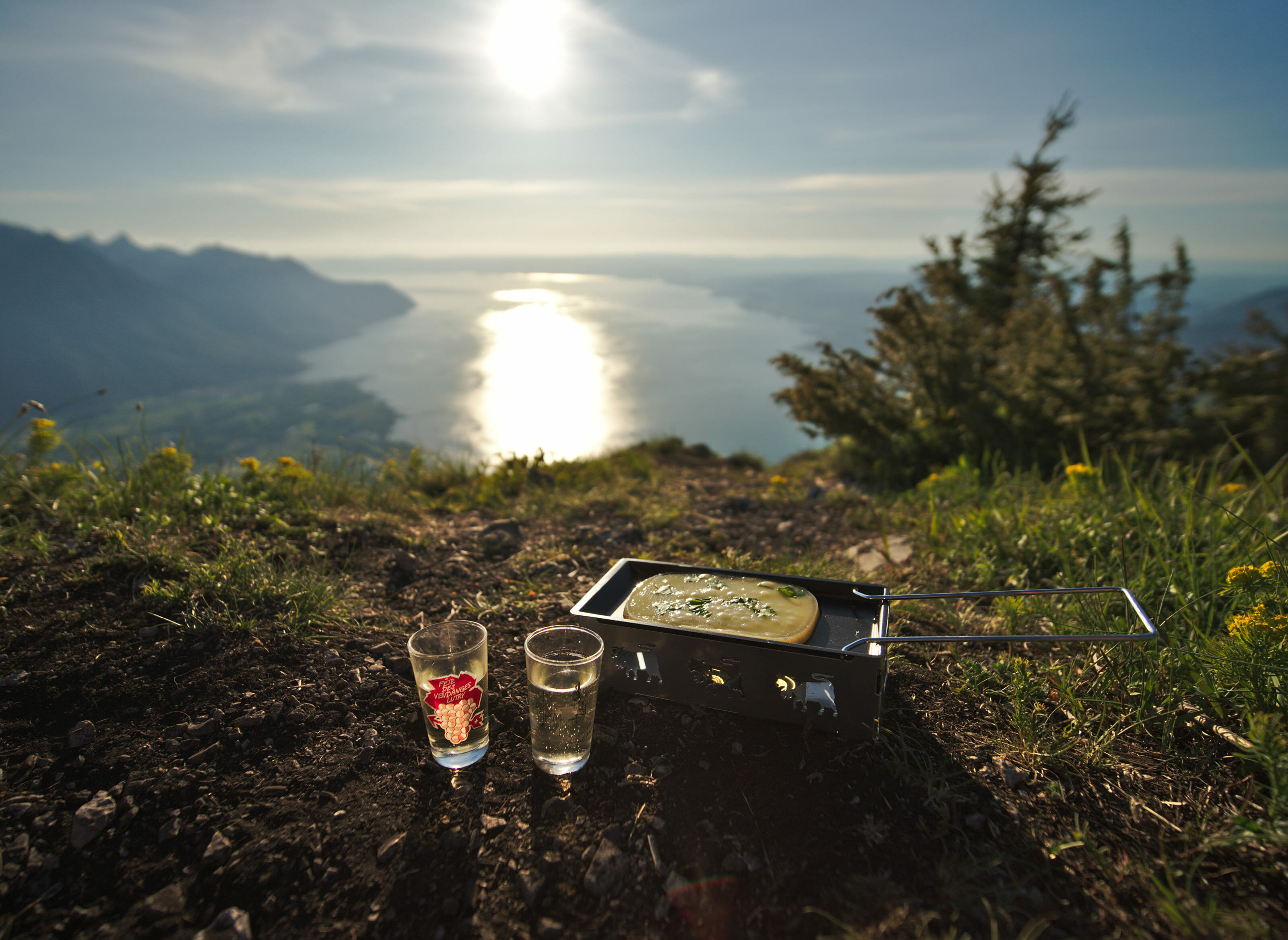 hiking and raclette