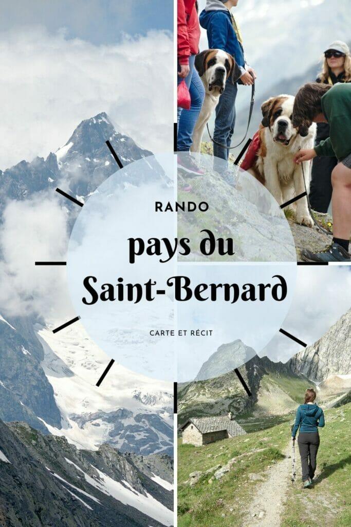 randonnée au saint bernard
