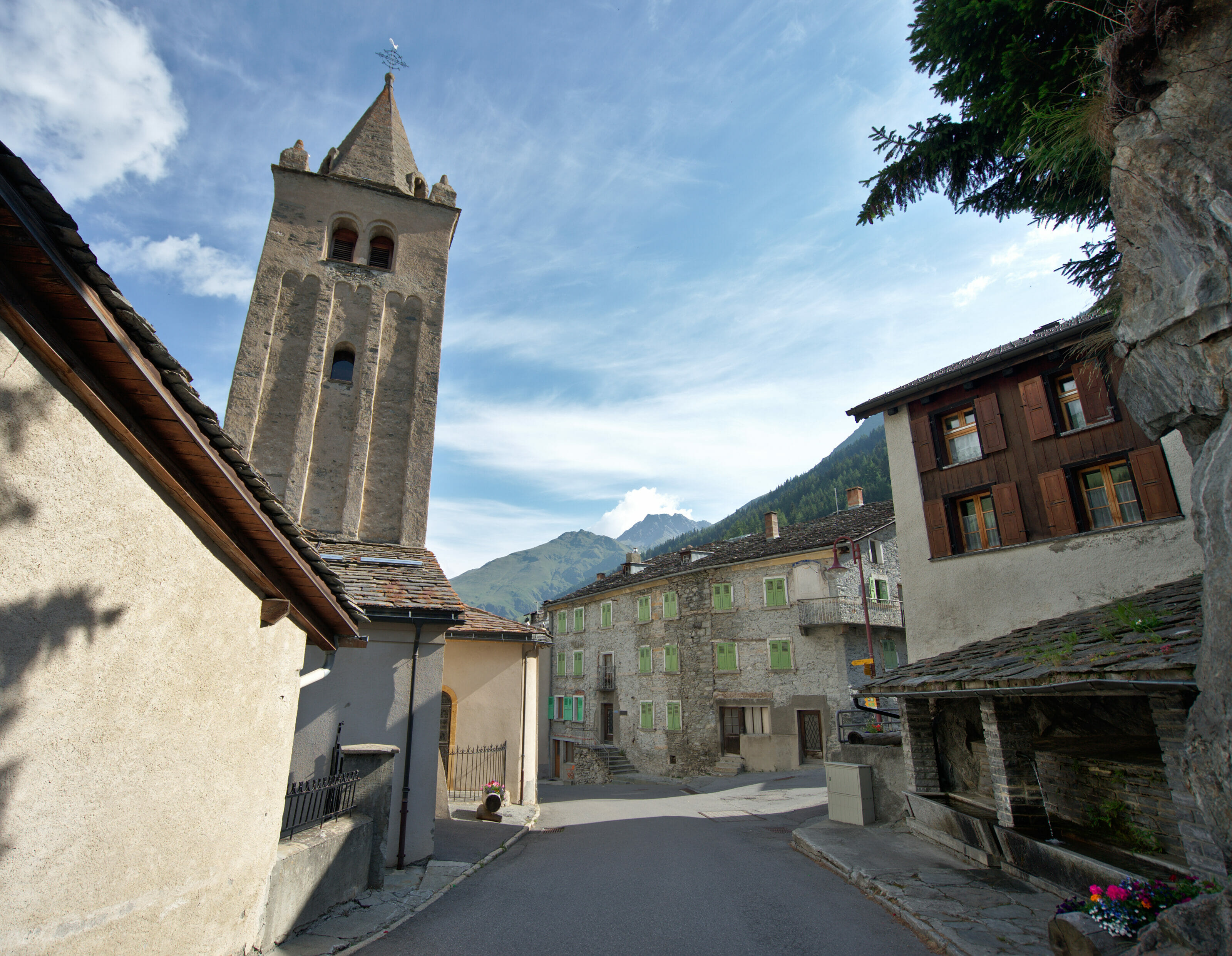 village de bourg-saint-pierre