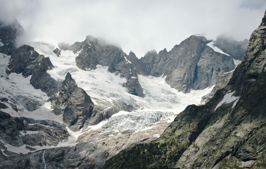 glacier mont blanc