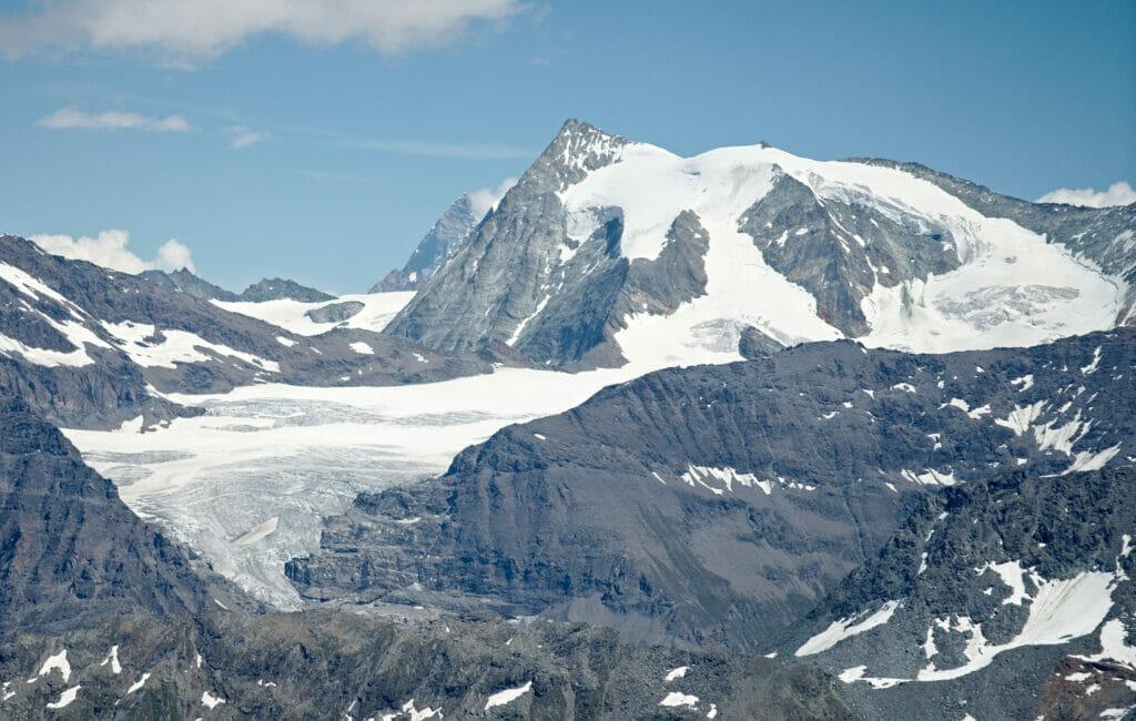 glacier alpes