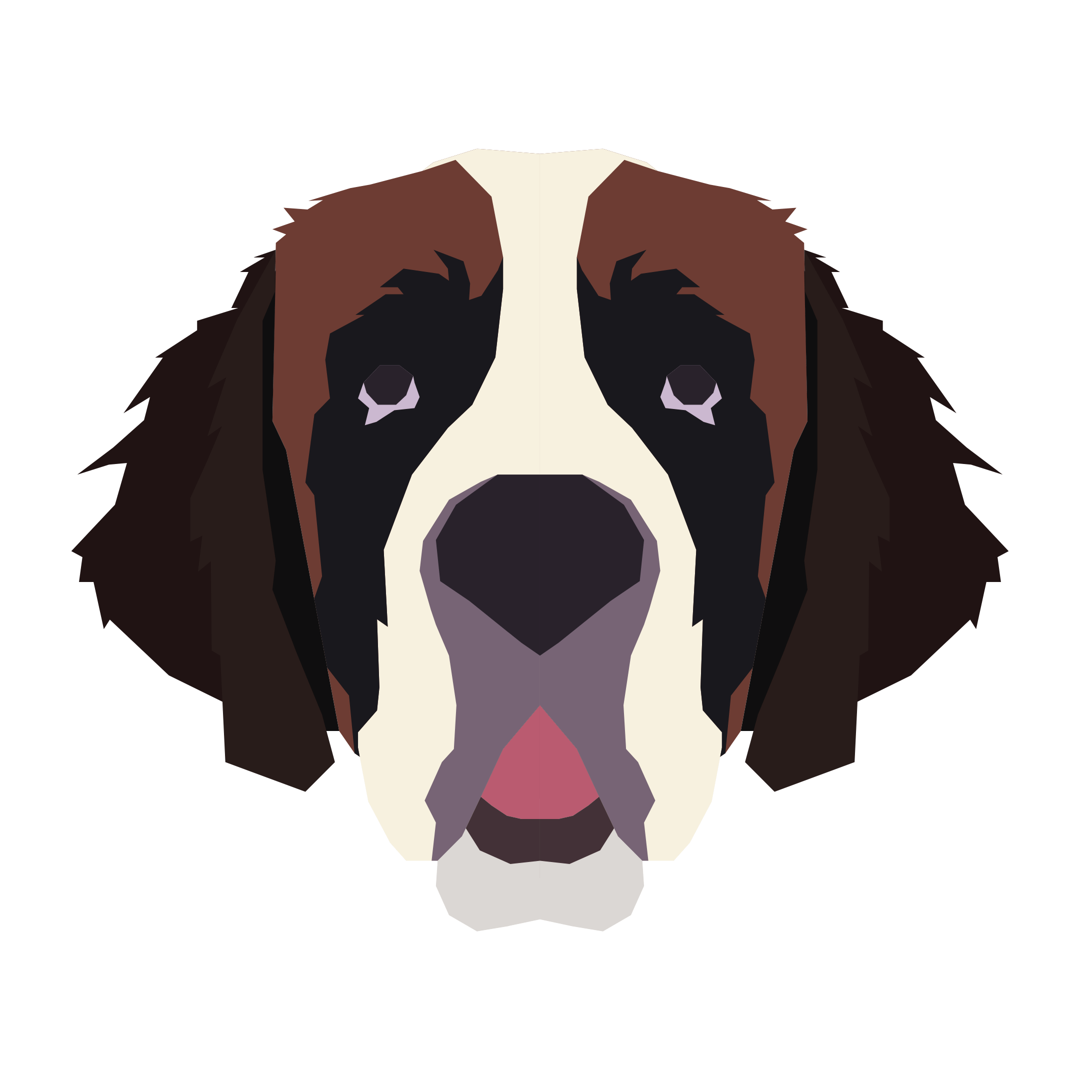 st-bernard illustration