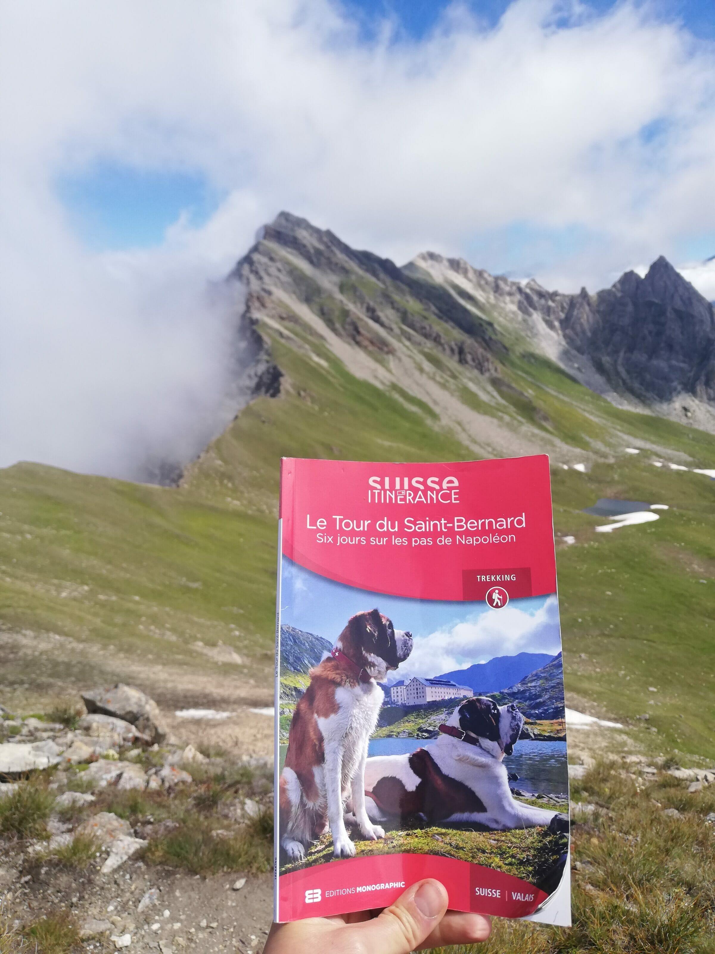 topo-guide tour du saint bernard
