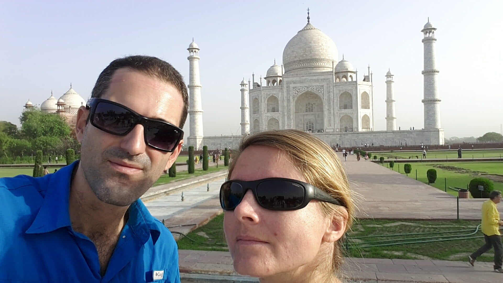 round the world trip in India