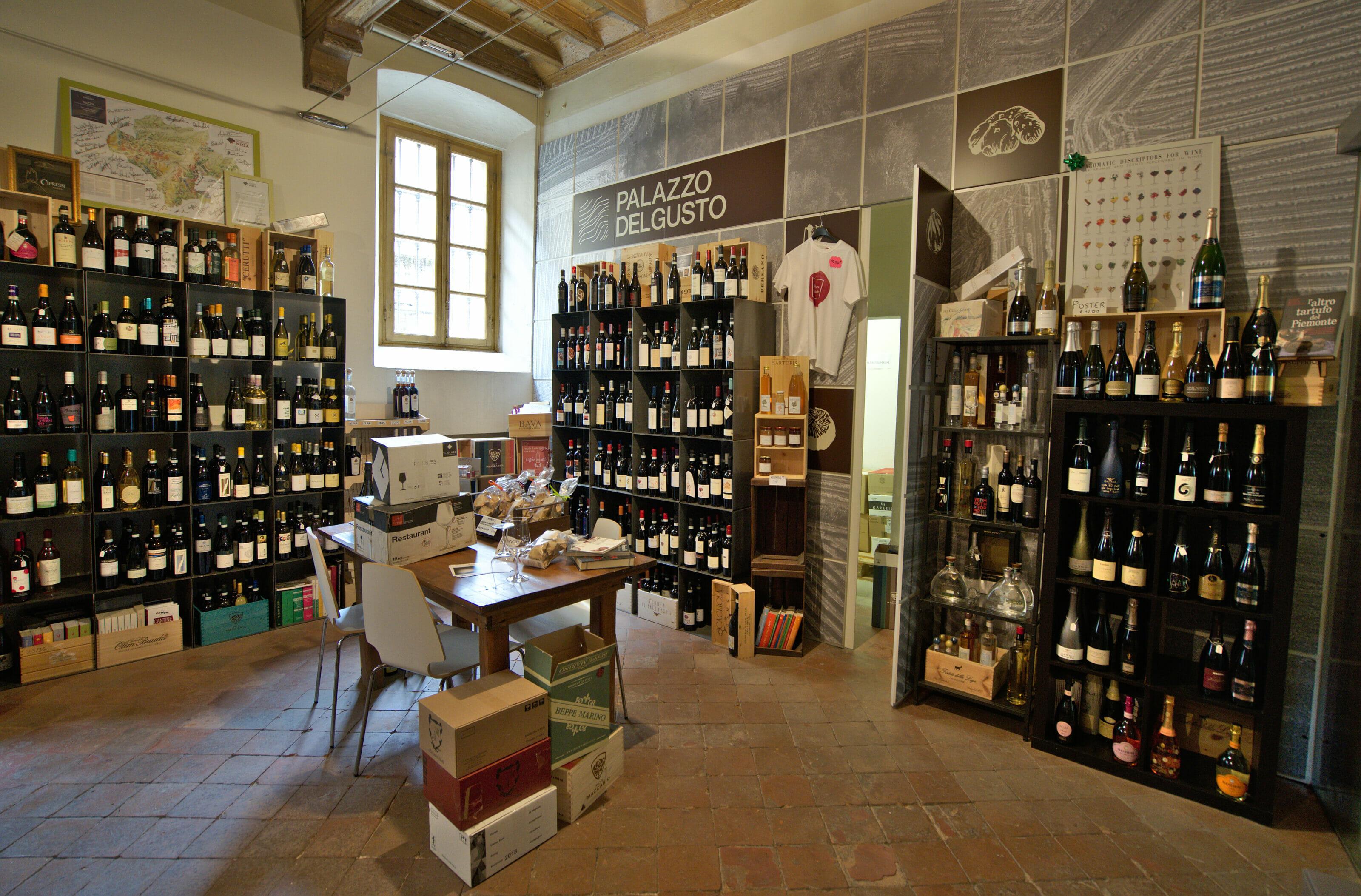 cave à vin piémont