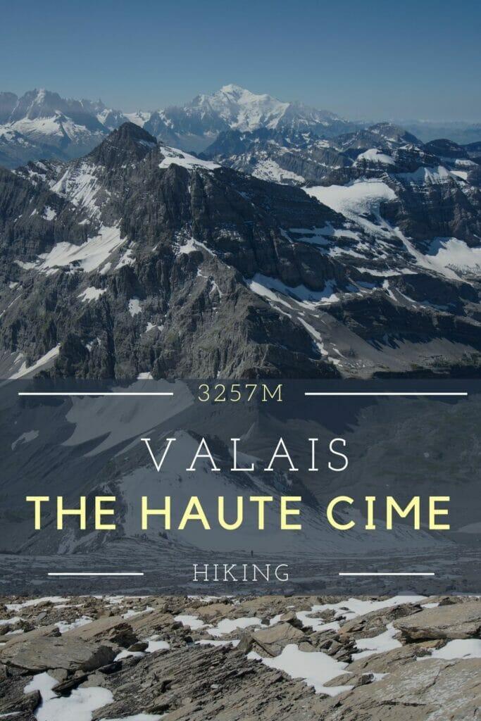 hiking Haute Cime Dents du Midi