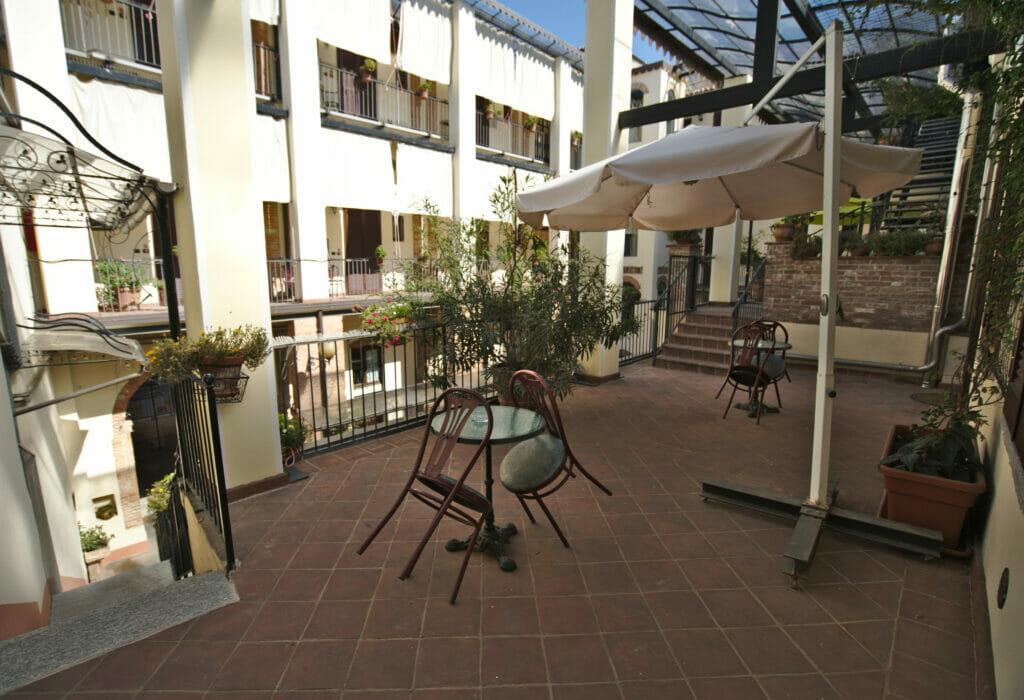 terrasse airbnb