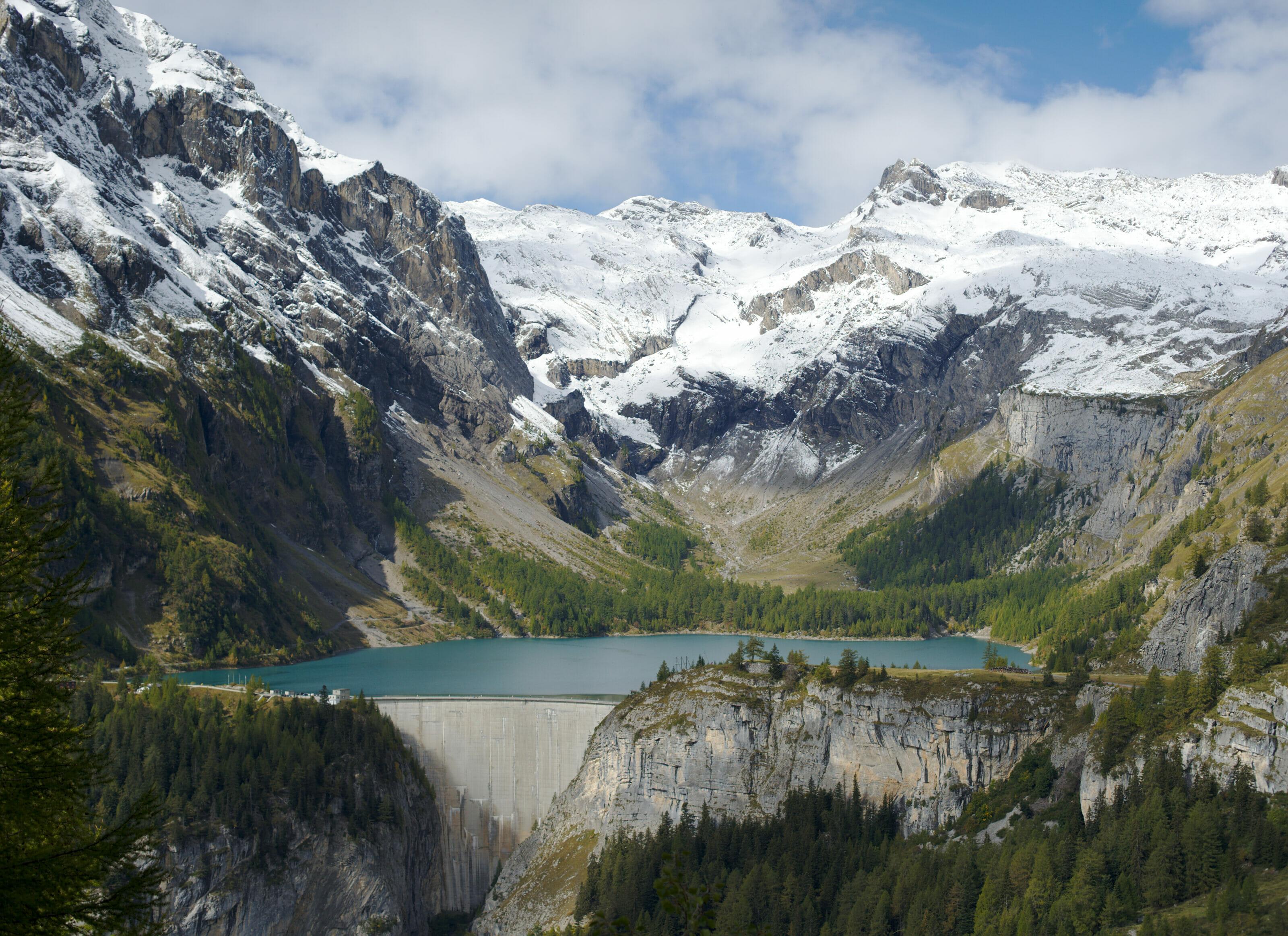 barrage et lac de tseuzier
