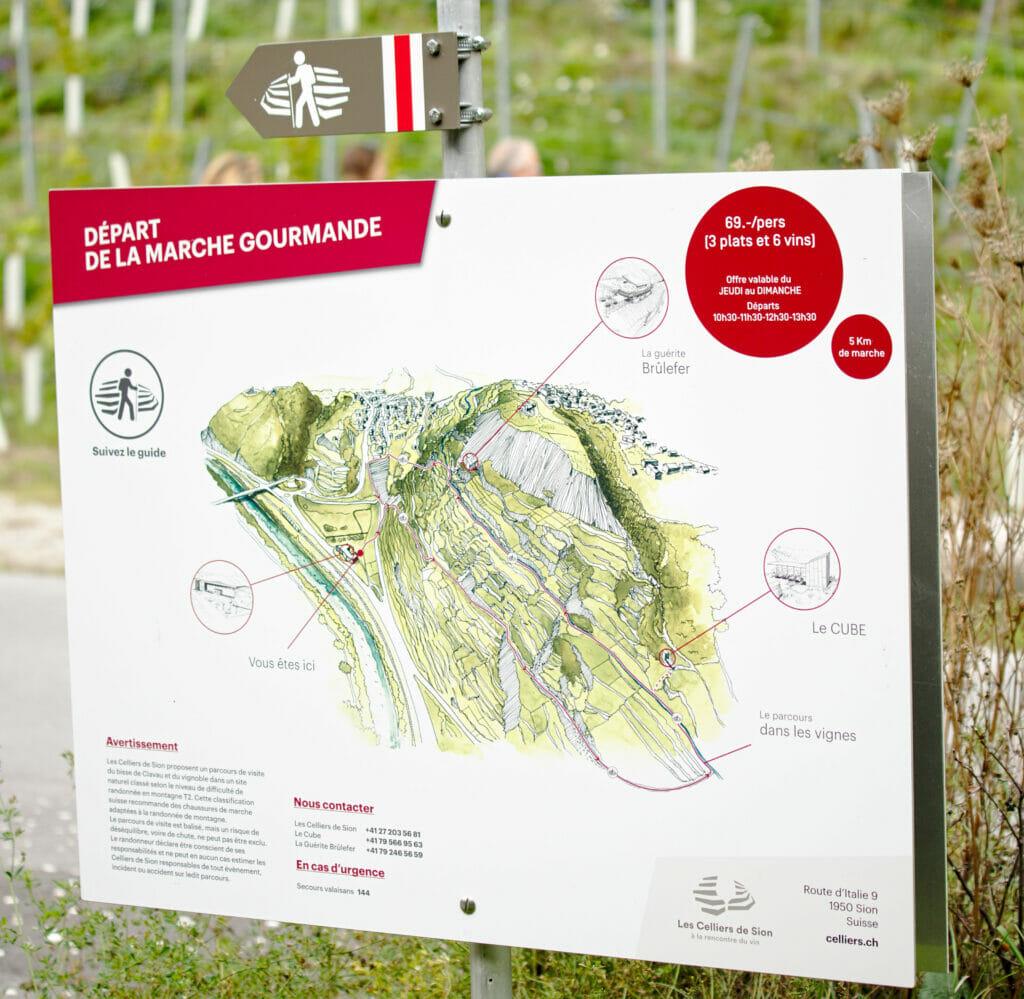 gourmet hike map