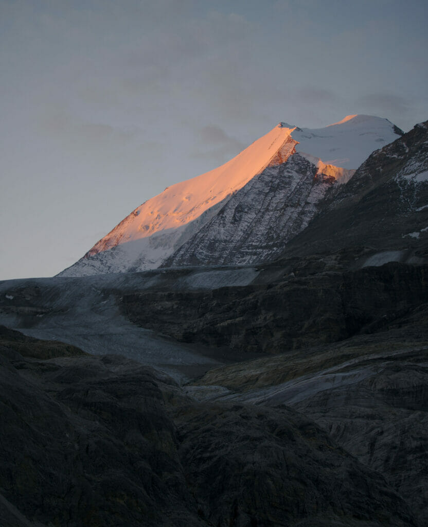 le Bishorn au lever du soleil