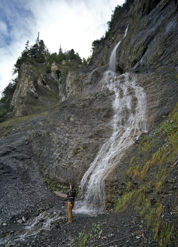 cascade bisse du ro