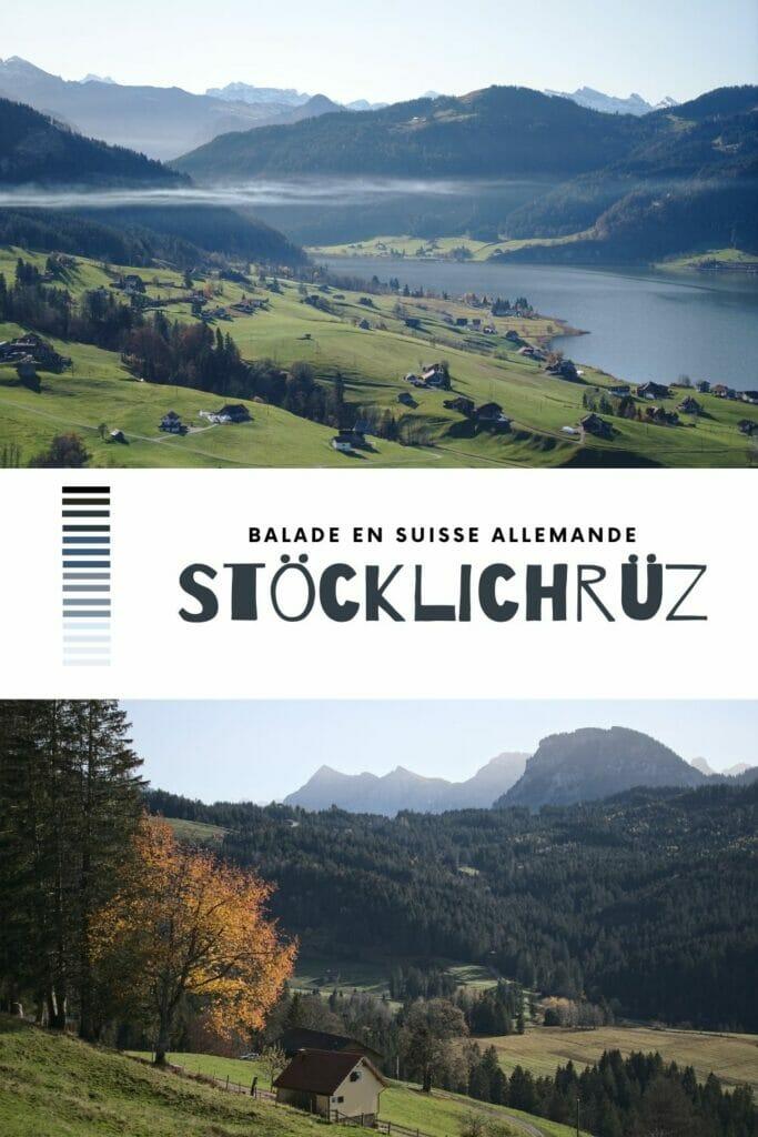 balade en suisse allemande