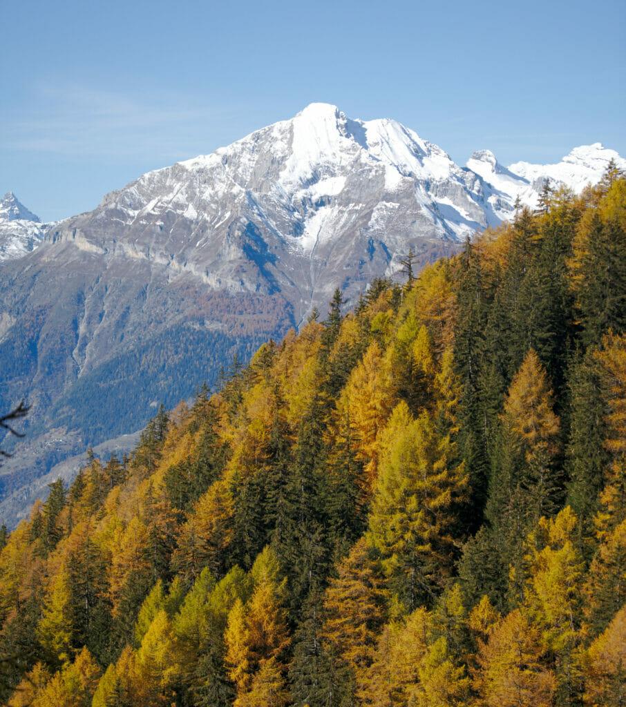 l'automne en suisse