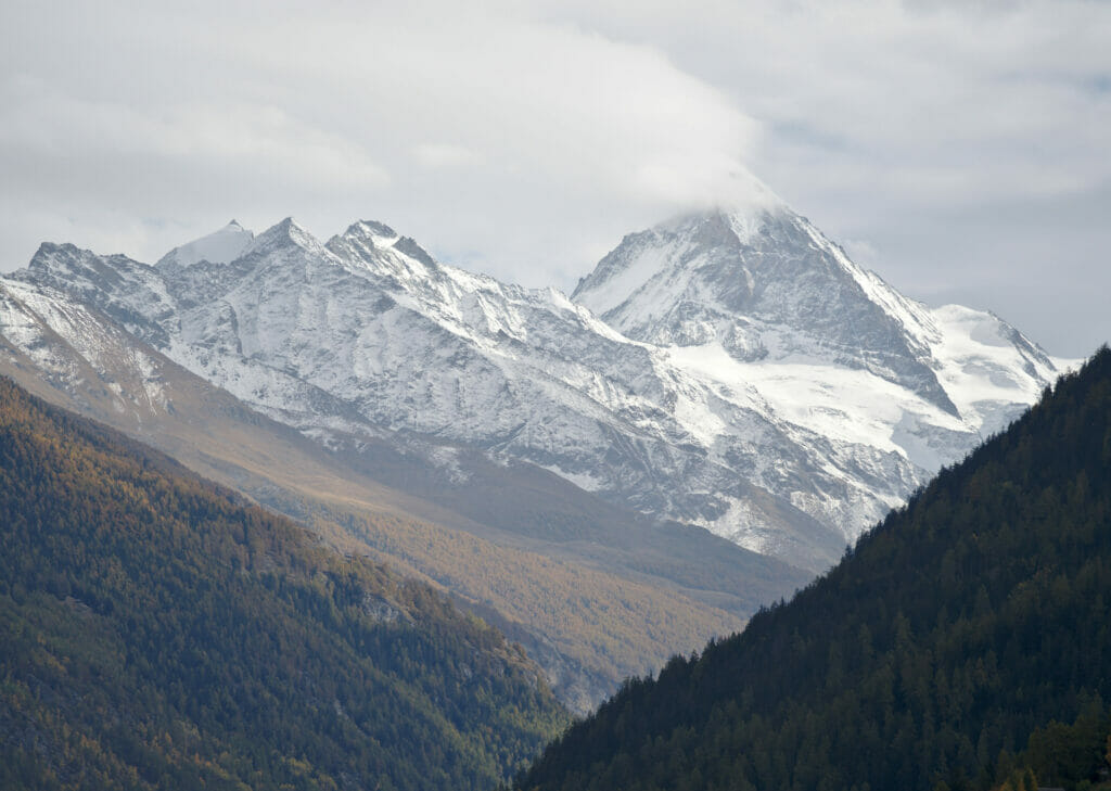 The Dent Blanche from Hérémence