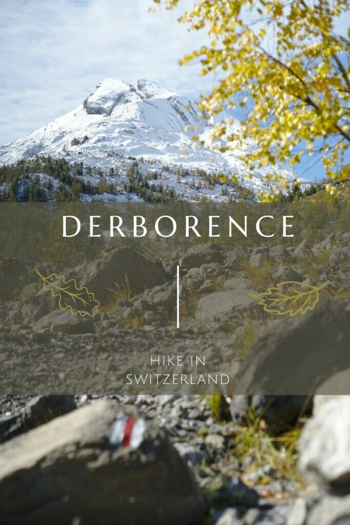 hiking in Derborence