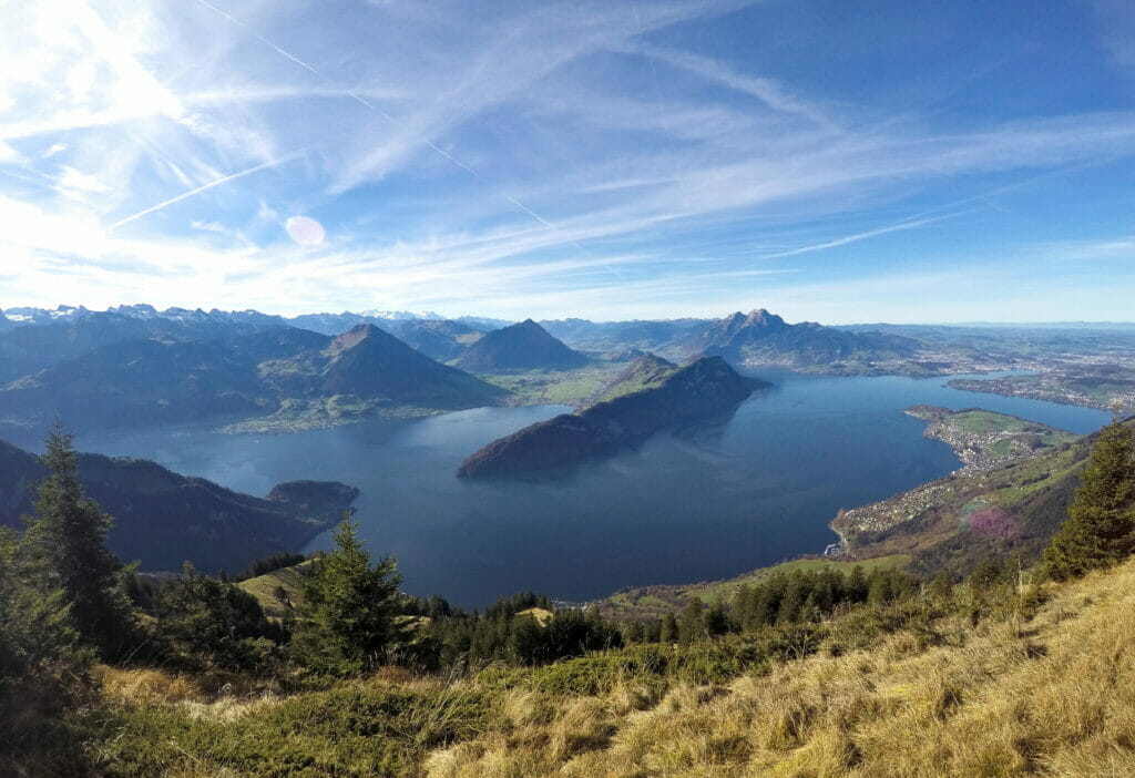 Lake Lucerne viewpoint