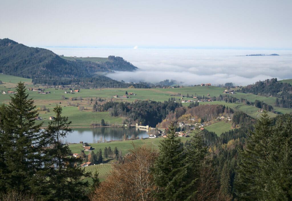 brume suisse centrale