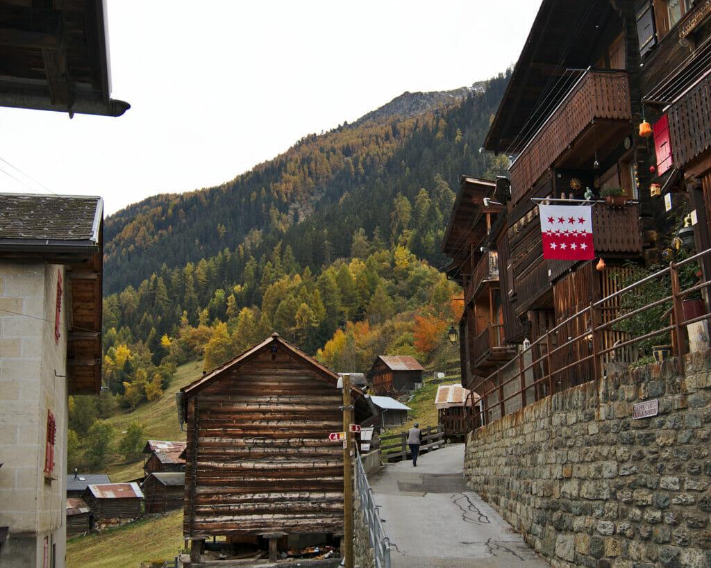le village de Mâche