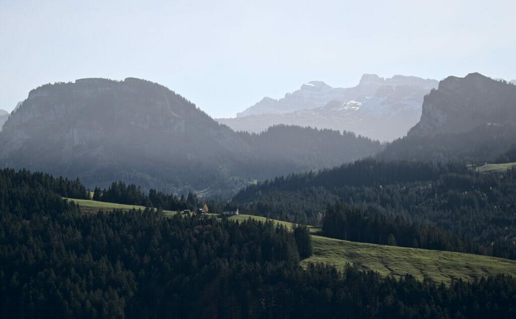 montagnes canton de schwyz