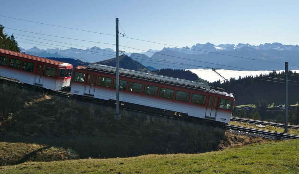 train crémaillère suisse