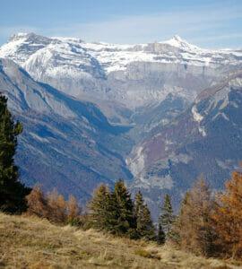Derborence valley in Valais