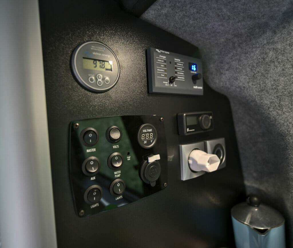 contrôle electrique van
