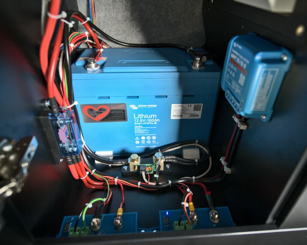 installation victron van amenage