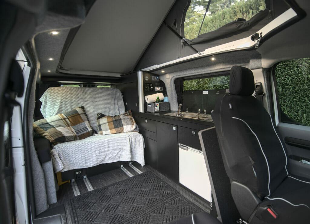intérieur du van