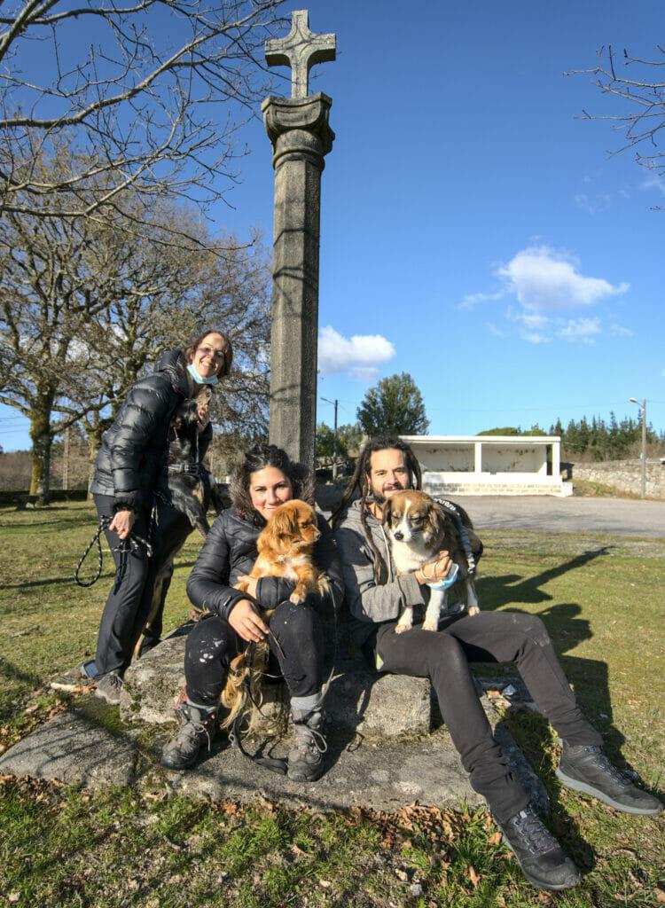 photo de famille au Anceu coliving