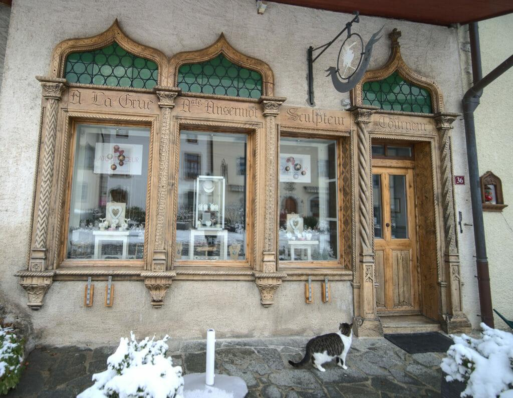 boutique à gruyère