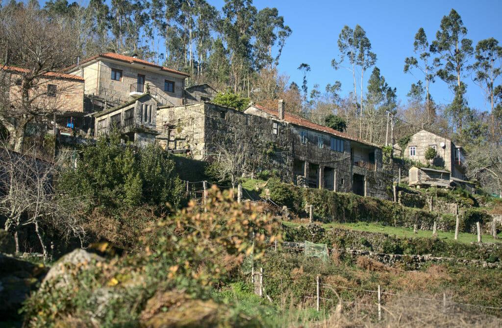 maison typique de Galice