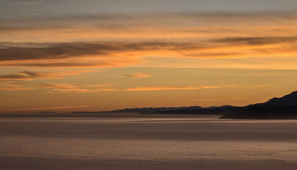 coucher de soleil Galice