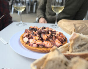 galician style octopus