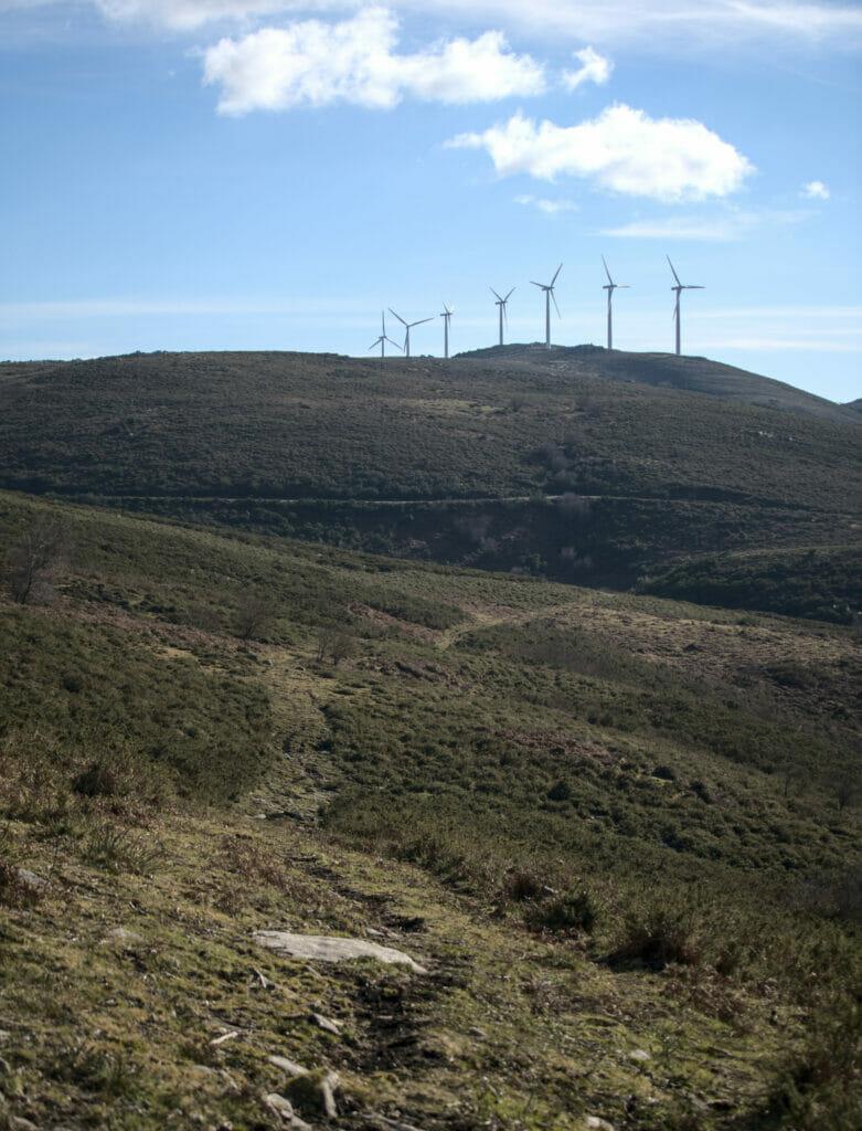 éoliennes en Galice