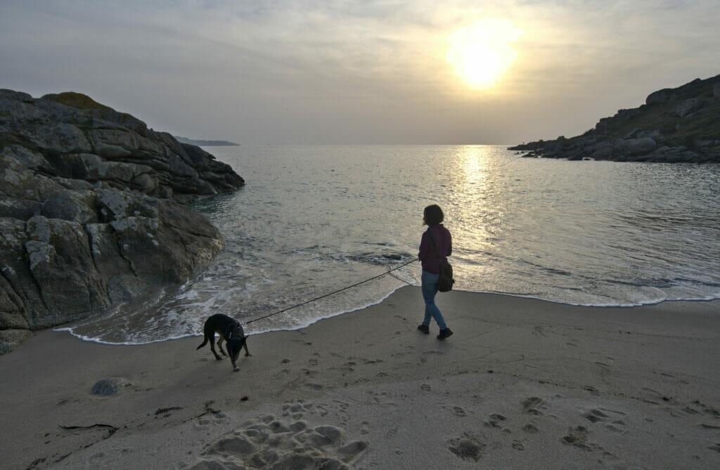 plage d'Ancoradouro Galice