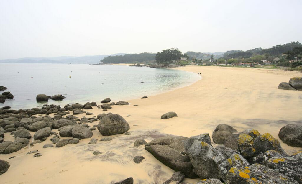 plage de Tulla Galice