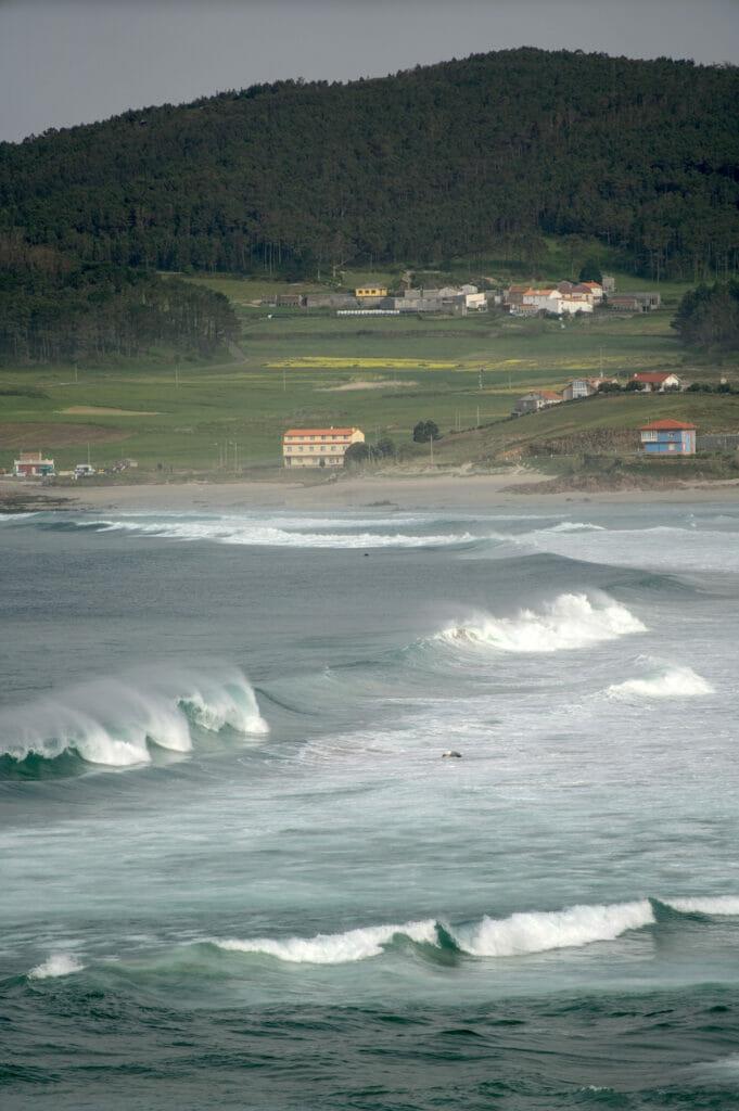 les vagues en galice
