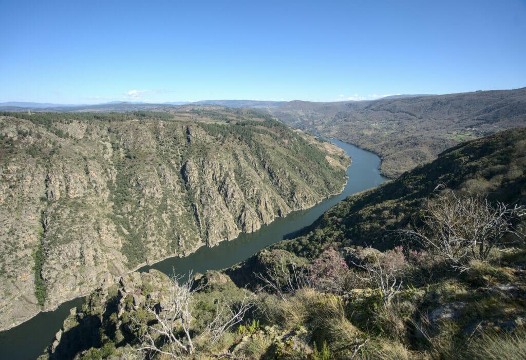 canyon del sil Ribeira Sacra
