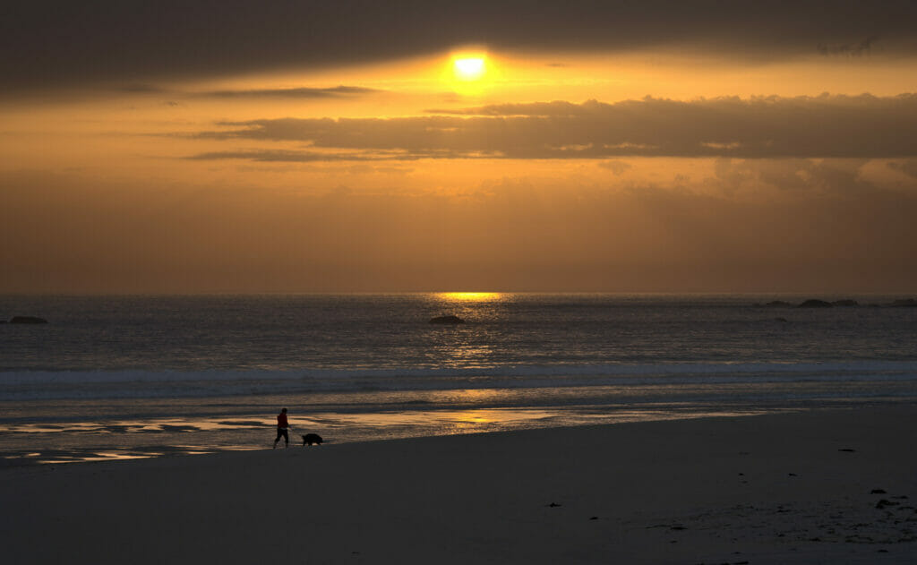 coucher de soleil costa da morte