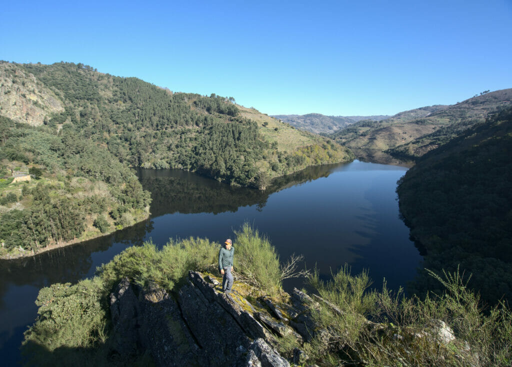 mirador du rio Miño à la Ribeira sacra