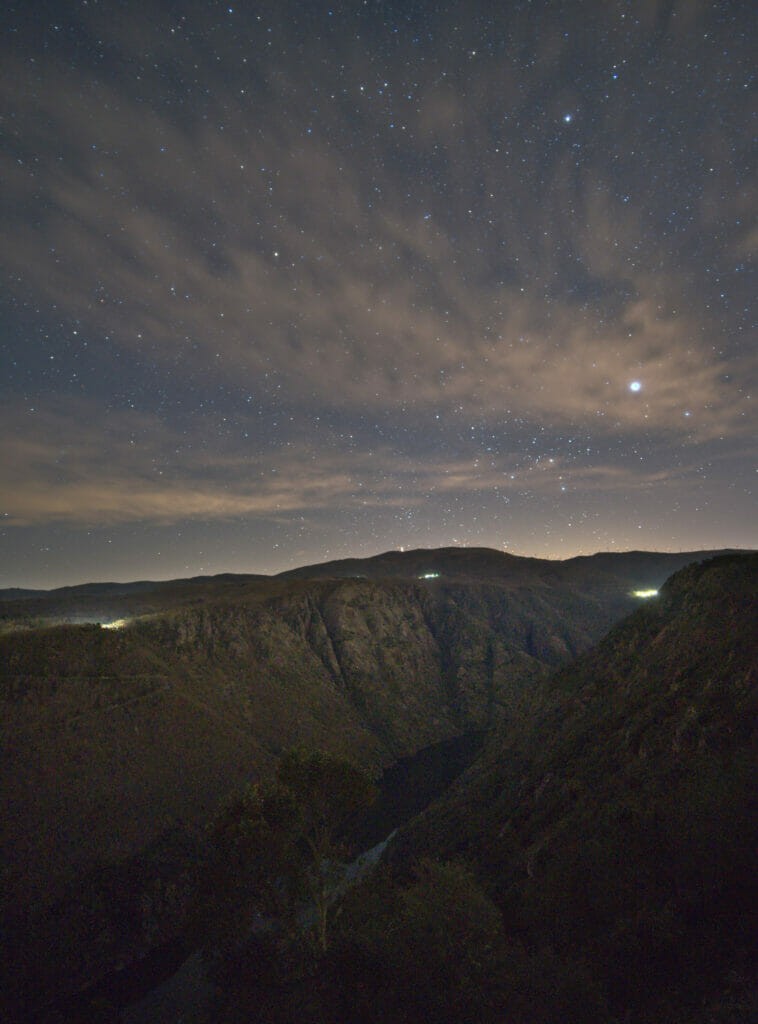night sky ribeira sacra