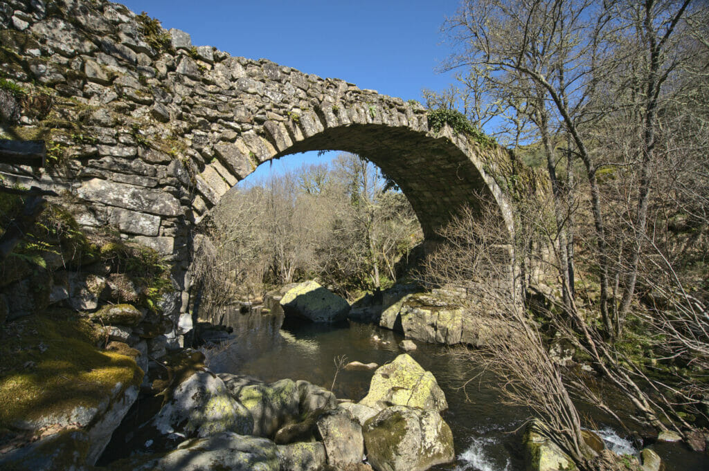 pont médiéval de Concelinas, Ribeira Sacra