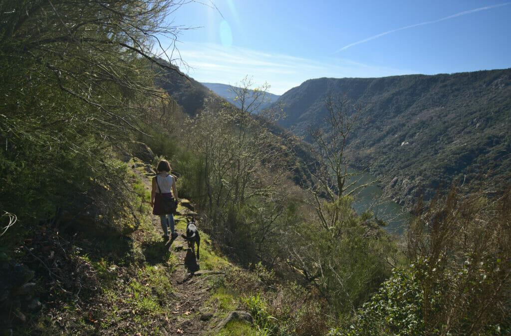 marche le long du canyon del Sil